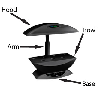 Black Replacement Bowl