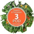 Custom Tomato/Pepper Seed Pod Kit for 3-Pod AeroGardens