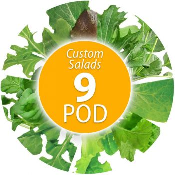 Custom Salad Seed Pod Kit (9-Pod)