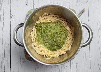 Favorite Basil Pesto With Almonds Pasta