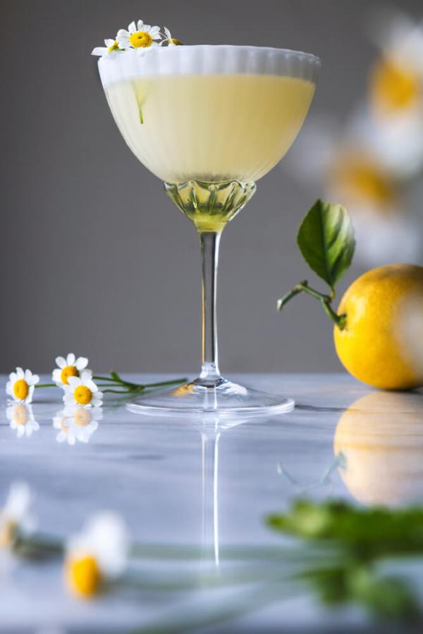 Lemon Chamomile Cocktail