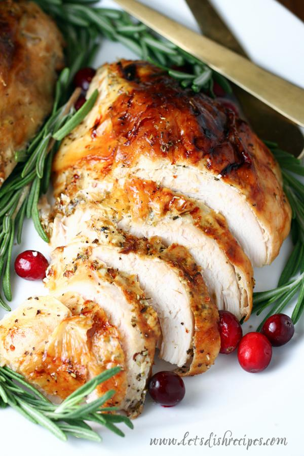 Rosemary Roasted Turkey Breast