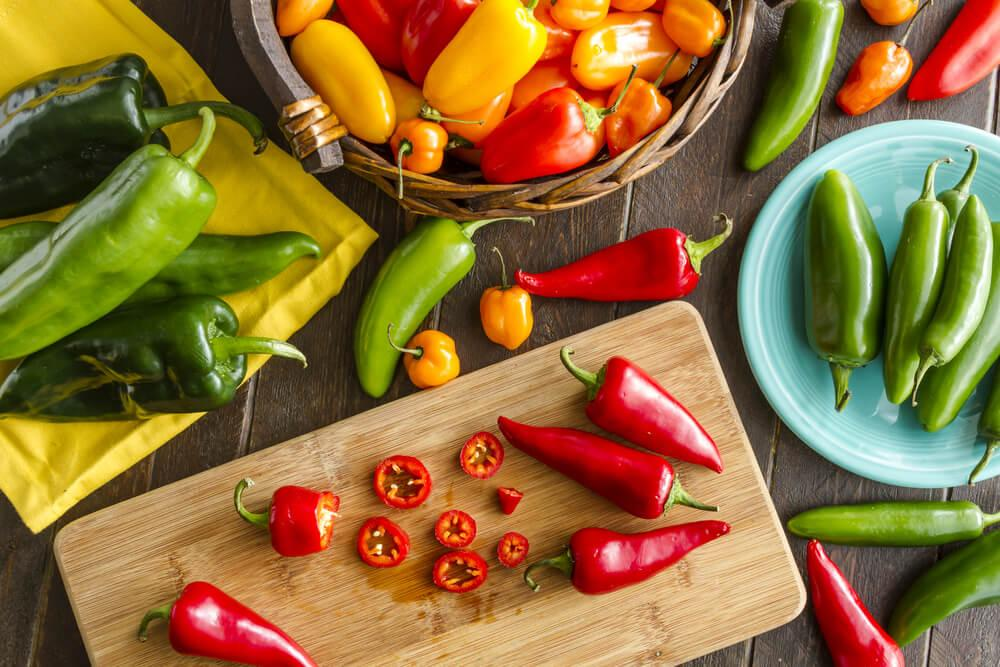 Different Types of Peppers & their Characteristics