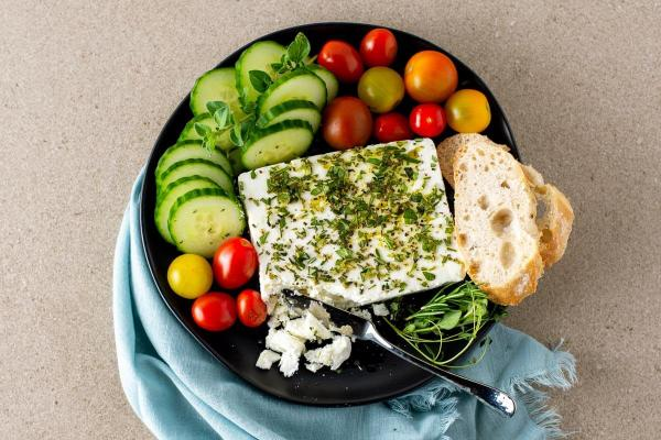Feta Cheese with Herbs