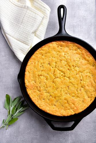 Cayenne Corn Bread