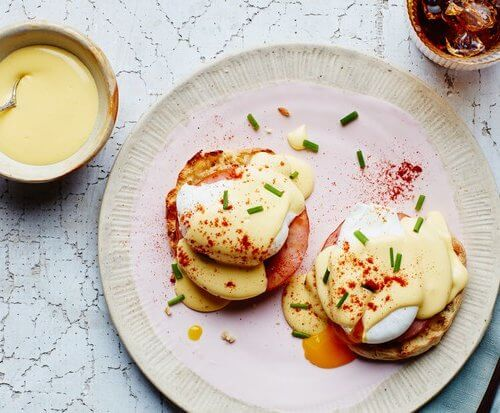 Classic Eggs Benedict with Blender Hollandaise
