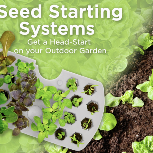 AeroGarden Seed Starting Systems